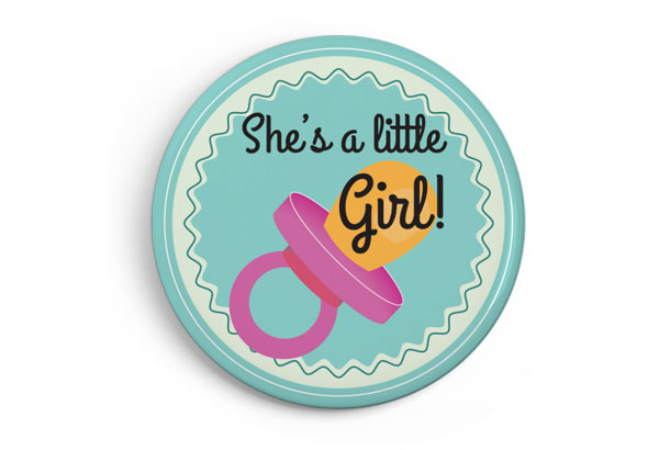 She's a litte Girl!